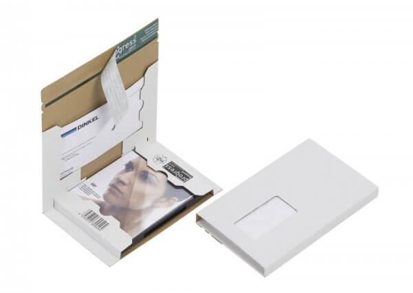 DVD-Mailer 192 x 141 x 15 mm Fenster links