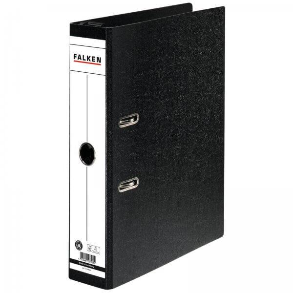 Hängeordner DIN A4 7 cm breit Hartpappe Schwarz
